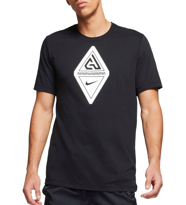 Nike Men's Dri-FIT Giannis Logo Graphic Basketball T-Shirt