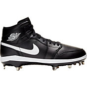 Jordan Men's 1 Retro Mid Metal Baseball Cleats