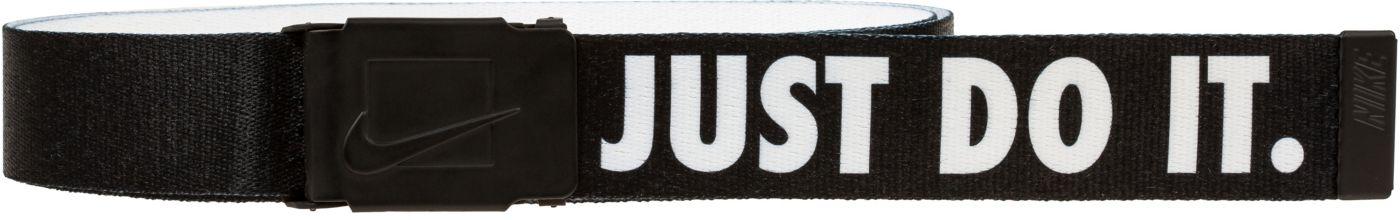 Nike Men's Just Do It Printed Web Golf Belt