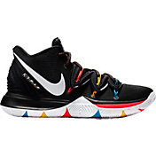 61d79d7cb422 Product Image · Nike Men s Kyrie 5 Friends Basketball Shoes · Black White Bright  Crimson