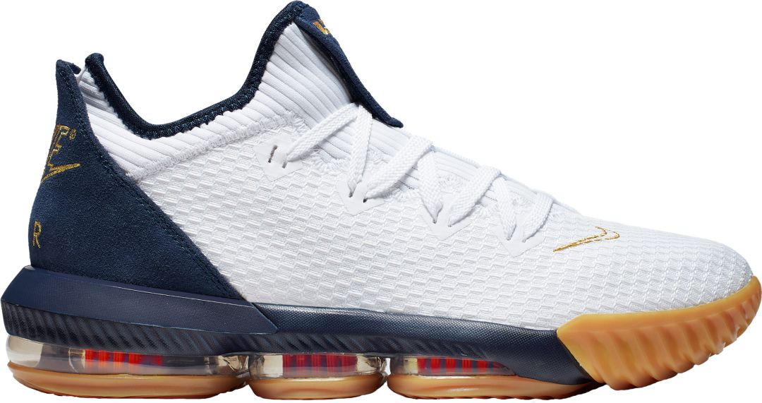 pretty nice dbca1 8738f Nike LeBron 16 Low Basketball Shoes