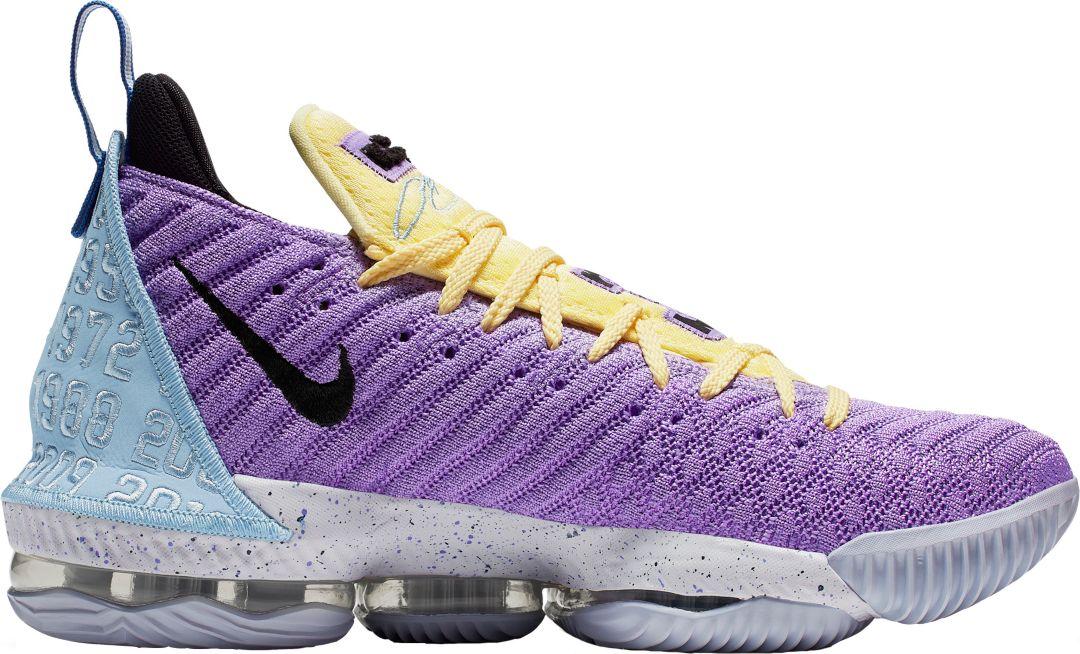 the latest fdb1c 2c520 Nike Lebron 16 Basketball Shoes