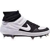 Nike Men's Alpha Huarache Elite 2 Mid Metal Baseball Cleats