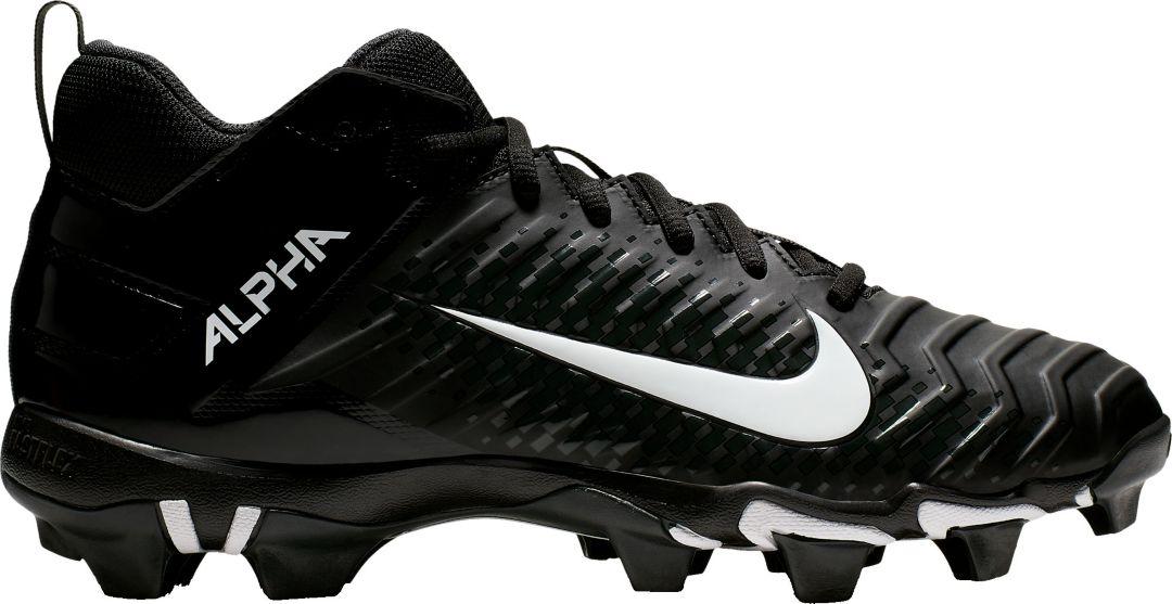 promo code a06aa ffc03 Nike Men s Alpha Menace Varsity 2 Mid Football Cleats 1