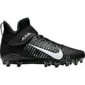 ed81f5161 Product Image · Nike Men's Alpha Menace Pro 2 Mid Football Cleats · Black/ White ...
