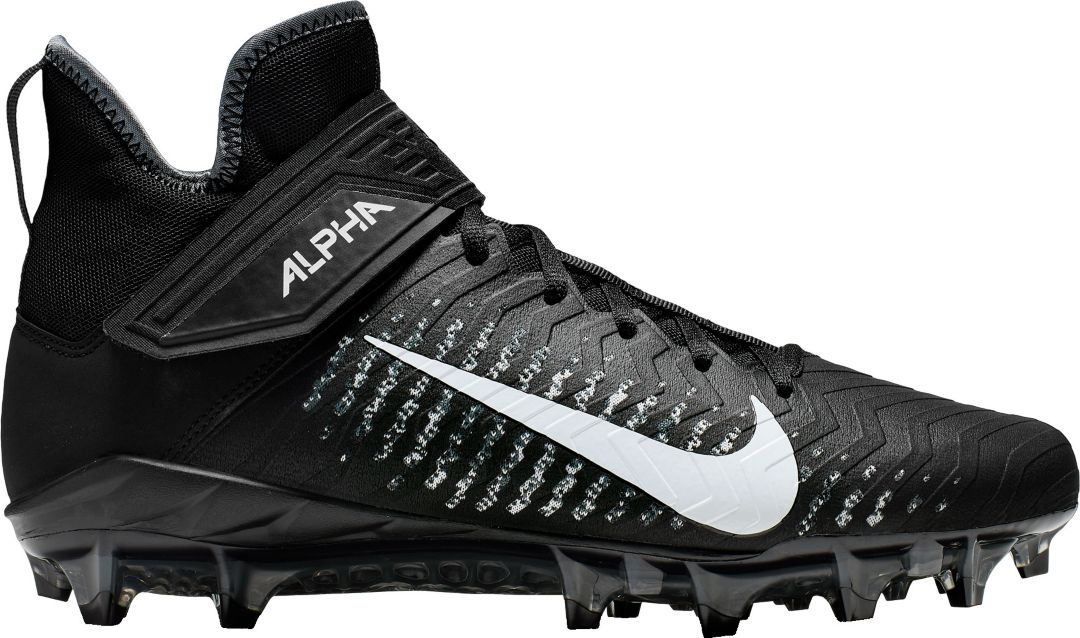 Nike Alpha Menace Pro 2 Mid Men's Football Cleat Black   Il