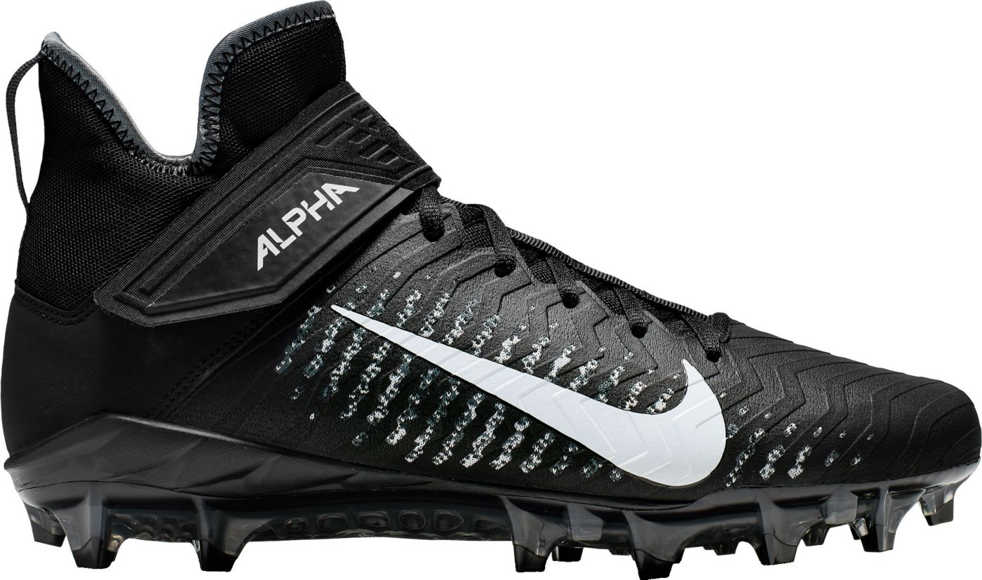 Nike Men's Alpha Menace Pro 2 Mid Football Cleats