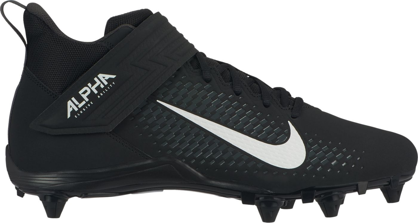 Nike Men's Alpha Menace Varsity 2 D Mid Football Cleats