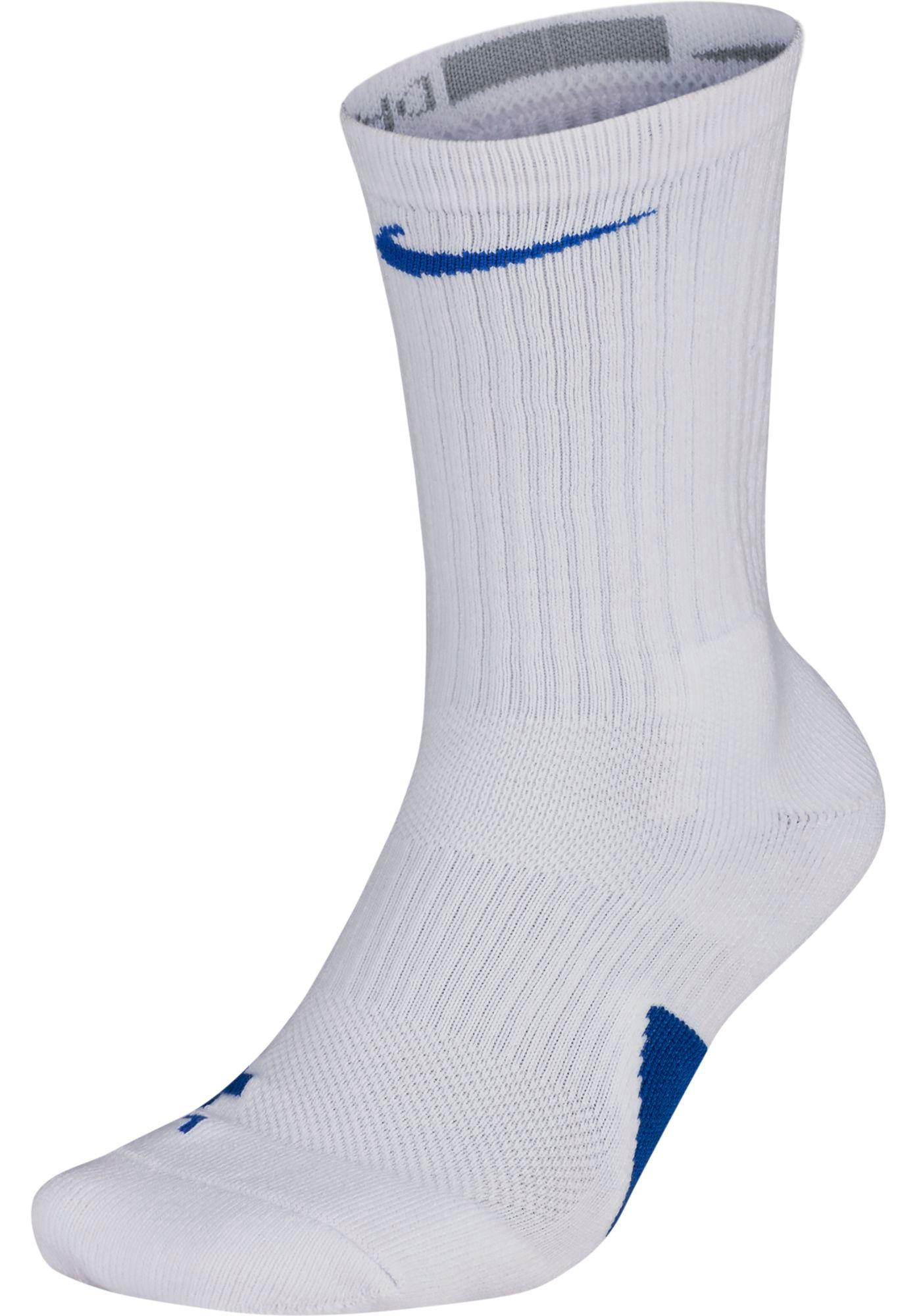 Nike Men's Elite Team Basketball Crew Socks