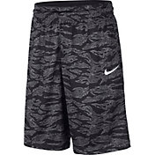 Nike Men's Dri-FIT Courtlines Camo Print Basketball Shorts