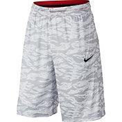Nike Men's Dri-FIT Courtlines Camo Print Basketball Shorts