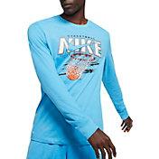 Nike Men's Dri-FIT Swish Graphic Basketball Long Sleeve Shirt