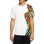 Nike Men's Animal Print Basketball Short Sleeve T-Shirt