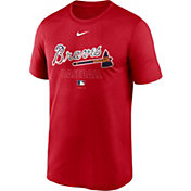 Nike Men's Atlanta Braves Red Authentic Collection Legend Dri-FIT T-Shirt