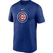 Nike Men's Chicago Cubs Blue Large Logo Legend Dri-FIT T-Shirt