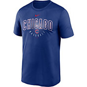 Nike Men's Chicago Cubs Blue Outline Legend Dri-FIT T-Shirt