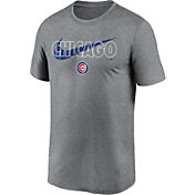 Nike Men's Chicago Cubs Legend Heather Grey Dri-FIT T-Shirt