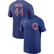Nike Men's Chicago Cubs Anthony Rizzo #44 Blue T-Shirt