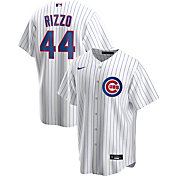 Nike Men's Replica Chicago Cubs Anthony Rizzo #44 White Cool Base Jersey