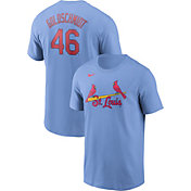 Nike Men's St. Louis Cardinals Paul Goldschmidt #46 Blue T-Shirt