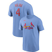 Nike Men's St. Louis Cardinals Yadier Molina #4 Blue T-Shirt