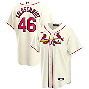Nike Men's Replica St. Louis Cardinals Paul Goldschmidt #46 Cream Cool Base Jersey