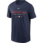 Nike Men's St. Louis Cardinals Navy Dri-FIT Baseball T-Shirt