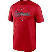 Nike Men's St. Louis Cardinals Red Authentic Collection Legend Dri-FIT T-Shirt