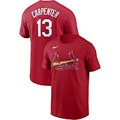 Nike Men's St. Louis Cardinals Matt Carpenter #13 Red T-Shirt