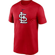 Nike Men's St. Louis Cardinals Red Large Logo Legend Dri-FIT T-Shirt