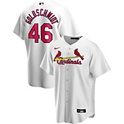 Nike Men's Replica St. Louis Cardinals Paul Goldschmidt #46 White Cool Base Jersey