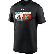 Nike Men's Arizona Diamondbacks Black Dri-FIT 2020 Spring Training T-Shirt