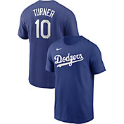 Nike Men's Los Angeles Dodgers Justin Turner #10 Blue T-Shirt