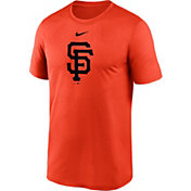 Nike Men's San Francisco Giants Orange Large Logo Legend Dri-FIT T-Shirt