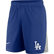 Nike Men's Los Angeles Dodgers Blue Logo Franchise Performance Shorts
