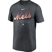 Nike Men's New York Mets Grey Authentic Collection Legend Dri-FIT T-Shirt