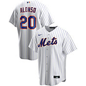 Nike Men's Replica New York Mets Pete Alonso #20 White Cool Base Jersey