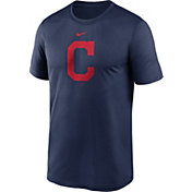 Nike Men's Cleveland Indians Navy Large Logo Legend Dri-FIT T-Shirt