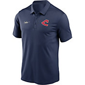 Nike Men's Cleveland Indians Navy Cooperstown Vintage Dri-FIT Franchise Polo