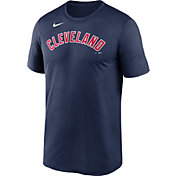 Nike Men's Cleveland Indians Navy Wordmark Legend Dri-FIT T-Shirt