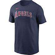 Nike Men's Los Angeles Angels Navy Wordmark Legend T-Shirt