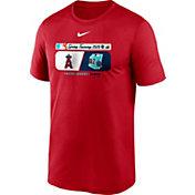Nike Men's Los Angeles Angels Red Dri-FIT 2020 Spring Training T-Shirt