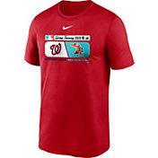Nike Men's Washington Nationals Red Dri-FIT 2020 Spring Training T-Shirt