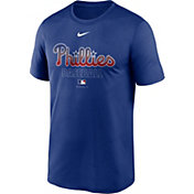Nike Men's Philadelphia Phillies Blue Authentic Collection Legend Dri-FIT T-Shirt