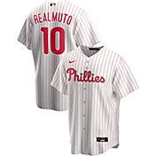 Nike Men's Replica Philadelphia Phillies J.T. Realmuto #10 White Cool Base Jersey