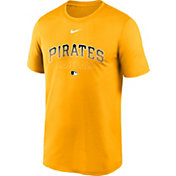 Nike Men's Pittsburgh Pirates Yellow Authentic Collection Legend Dri-FIT T-Shirt