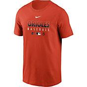 Nike Men's Baltimore Orioles Orange Dri-FIT Baseball T-Shirt