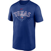 Nike Men's Texas Rangers Blue Outline Legend Dri-FIT T-Shirt