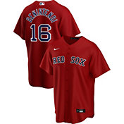 Nike Men's Replica Boston Red Sox Andrew Benintendi #16 Red Cool Base Jersey