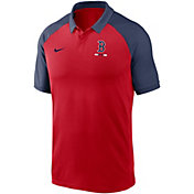 Nike Men's Boston Red Sox Red Dri-FIT Legacy Raglan Polo